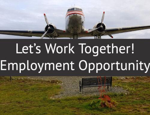 Let's Work Together: Seeking Administrative Assistant (PT, T)