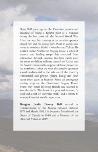 Sky Road North by Doug Bell Back Cover
